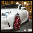 20 ROHANA RF1 RED FORGED CONCAVE WHEELS RIMS FITS LEXUS LS460 LS600