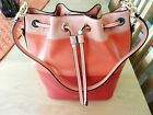 Michael Kors Dottie Large Color Block Bucket Bag MSRP 358