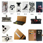 Leather Wallet Card Case Stand Cover For Various Smart Phone Sony Nokia HTC XH