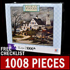 Charles Wysocki - Checking In On The Olde Martha's Vineyard - 1000 Piece Puzzle