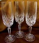 Royal Irish Crystal  Fluted Champagne Glasses RIX1 Lot of 3