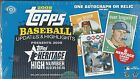 2008 Topps Heritage High Number Edition Baseball Hobby Box -1 Hit Per Box