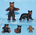 Antique Bear Family Cast Iron Metal Art Figural Paperweight Novelties Wilton