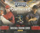 2011 Panini Playoff Contenders Baseball Factory Sealed Hobby Box - 6 Autos a Box