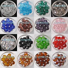 New Wholesale 10 12 14 16 18mm Rondelle Faceted Crystal Glass Loose Spacer Beads