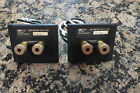 Pair of kef c75 Speaker  connectors binding posts Matching Pair