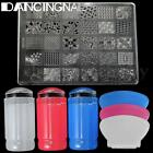 USA Nail Art Stamping Stamper Kit With Image Plate  Scraper Manicure Tool Set