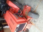 Case Ingersoll tractor lawn mower snow thrower hydro everything 4120 chipper
