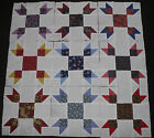 9 Quilt Blocks Squares LADY TULIP FINGERS Country Calico