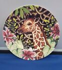 Fitz & Floyd Exotic Jungle Giraffe Salad Plate - 9.25