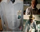 Shirt Worn By Morgan Freeman in Movie DOLPHIN TALE Screen Used COA