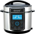 OUUO Programmable Smart Electric Pressure Cooker 6 Qt
