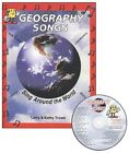 Audio Memory Geography Songs w CD NEW