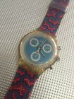 Swatch Watch RARE COLLECTION Chrono Classic Wild Card