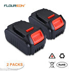 2PCS 18V 4.0Ah Battery for DeWalt DCB200 DCB181 Cordless Drill Driver DCS380 Saw