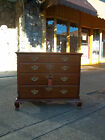 Outstanding Southern Mahogany Shop Made Chippendale Chest 20th Century