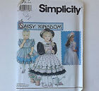 Simplicity Daisy Kingdom Dress Sewing Pattern Size 2-4 Uncut Pageants #7699