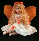 Porcelain Butterfly Fairy Diamond Tear Drop Eye