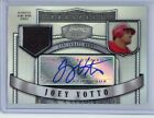 2007 Bowman Sterling JOEY VOTTO # 199 Refractor Jersey Rookie Auto RC