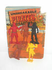 RARE VINTAGE MPC UNBREAKABLE HARD PLASTIC PIRATES MINT ON CARD 1960s