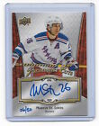 Martin St. Louis 2016 UD Prominent Cuts National Convention Auto Autograph 50