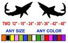 MAKO STICKERS DECALS ANY SIZE OR COLOR PAIR SHARK MARINE BOAT SHARK