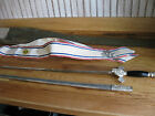 Antique Knights of Columbus K of C Sword w Sash and Canvas Carrying Bag GUC