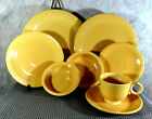 Vintage (1936-1969) Fiestaware ~ YELLOW ~ 8 pc Place Setting