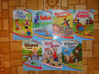 Lot of 7 Abeka 1st Grade Readers A E G  I Fun With Pets Tiptoes Stepping