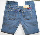 LUCKY BRAND DUNGAREES BLUE DENIM JEANS 4 27 X 31 2000 VINTAGE INSPIRED