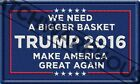 President Donald Trump Patch Make America Great Again Basket Of Deplorables