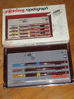 Rotring Radiograph Set of 3 Technical Pens with case