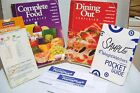 Weight Watchers Dining out Guide +Complete Food Companion Guide + Points Finder