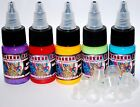 Infinitii 5 Piece Color Set  10 1 2 oz Bottles Free Small Ink Cups 9