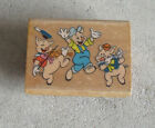 Rubber Stampede Three Little Pigs A 244 D Rubber Stamp