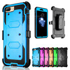 Shockproof Heavy Duty Belt Clip Holster Case Cover for Apple iPhone 7 7 Plus