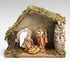 Fontanini Nativity Set 4pc w Wooden Stable 54710 NEW Free Shipping