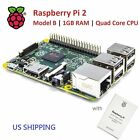 RASPBERRY PI 2 Model B 1GB RAM Quad Core CPU US Shipping