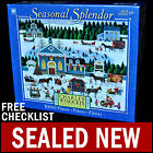 NEW Charles Wysocki - Churchyard Christmas - 1000 Piece Puzzle Americana Country