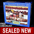 NEW Charles Wysocki - Country Spyce - 1000 Piece Seasonal Splendor Puzzle Winter
