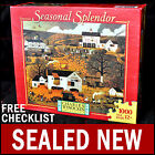 NEW Charles Wysocki- Dancing Pheasant Farms- 1000 Piece Seasonal Splendor Puzzle
