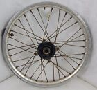 1992 Honda XR 600 OEM Front Wheel Rim Hub Spokes Assembly Used Part 92 XR600R