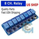 8 Channel 5V Relay Shield Module Board for Arduino Raspberry Pi ARM AVR CN