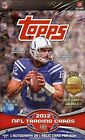 2012 Topps Football Factory Sealed Hobby Box - 1 Autograph or Relic Card Per Box