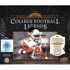 2011 Upper Deck College Legends Football Factory Sealed 12 Box Hobby Case