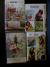Lot of 4 Handbag, Tote Sewing Patterns, Uncut, Vogue, Butterrick Waverly, McCall