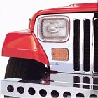 Headlight Guard-Stone Guard Kit Head Light Protectors fits 1987 Jeep Wrangler
