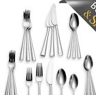 Dansk Bistro Cafe 20-Piece Salad Dinnerware Forks Knives Tea Spoons Flatware Set