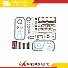 Full Gasket Set Head Bolts Fit 88 93 Toyota Corolla Geo Primz 16L DOHC 4AFE