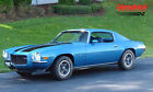 Chevrolet Camaro Rare Mulsane Blue Z 28 in extraordinary restored condition Numbers Matching